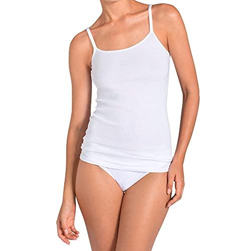 Triumph Damen Unterhemd Katia Basics Shirt01 3P, Weiß (White 03), Gr. 40