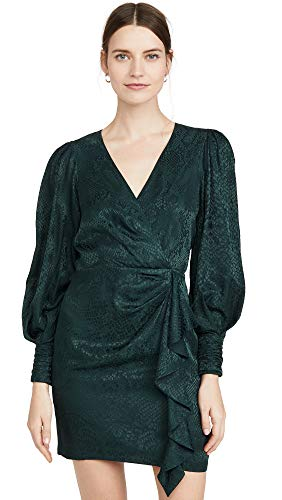 Parker Women's Thelma Dress, Pine, Green, Print, 12