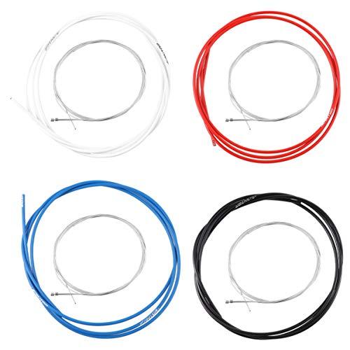 BESPORTBLE Cable de Cambio de Bicicleta Cable de Cambio Kit de Cable de Cambio de Bicicleta para Bicicleta de Carretera Bicicleta Plegable 4 Juegos