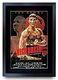 HWC Trading A3 FR Kickboxer Der Cast Jean-Claude Van Damme