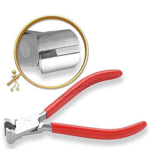 PTL Schmuckherstellungs Zangen Schneider Top End Kanten Werkzeug Prestige 12.7cm