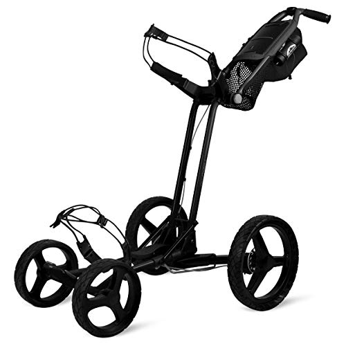 Sun Mountain Golf 2019 Pathfinder 4 Push Cart BLACK (Black, )
