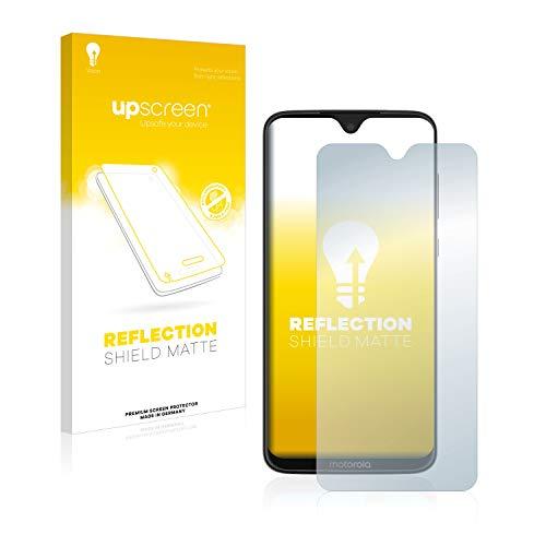 upscreen Entspiegelungs-Schutzfolie kompatibel mit Motorola Moto G7 Plus / G7 – Anti-Reflex Bildschirmschutz-Folie Matt