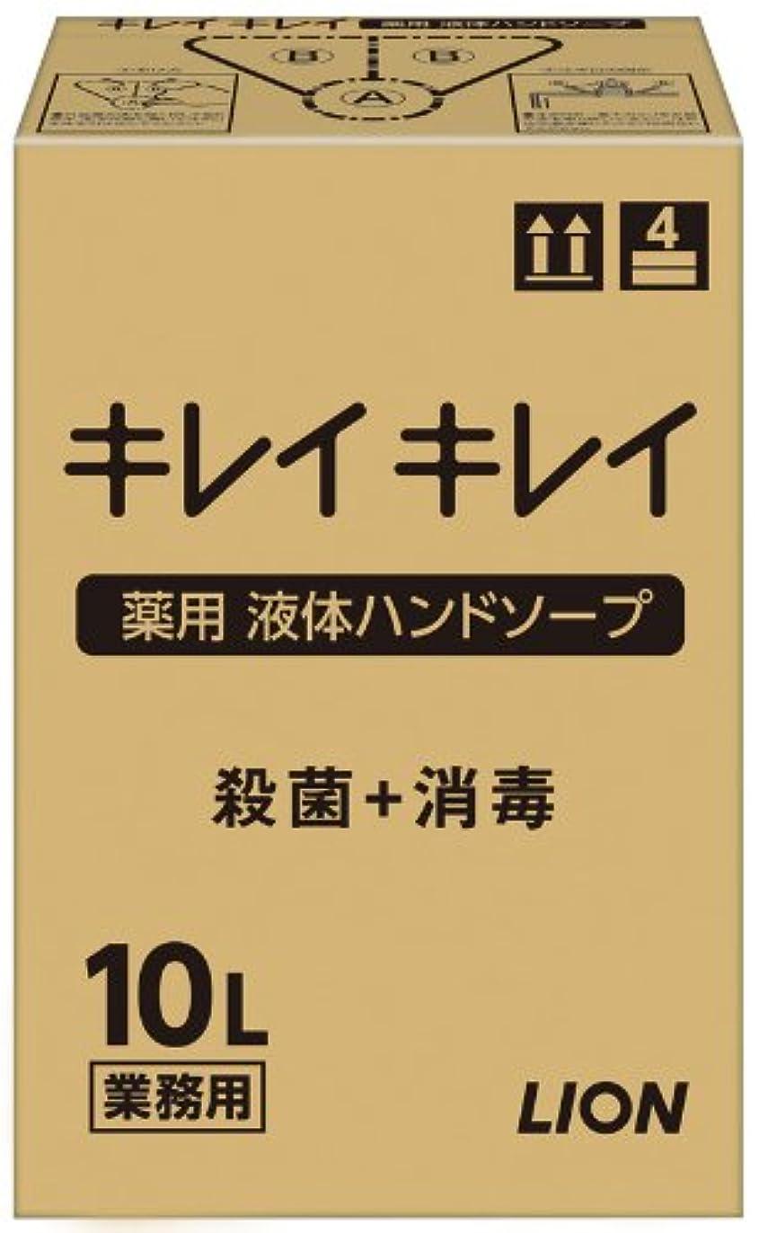 取り付け散歩たくさんの【大容量】キレイキレイ 薬用ハンドソープ10L
