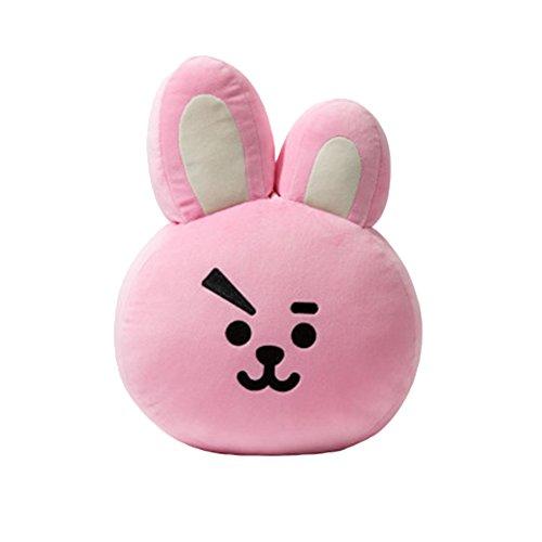 Kingmia BTS Bangtan Boys BTS Kissen BTS Pillow Cute Cartoon Plüsch Puppe Dekokissen Kissen BTS Jimin Geschenk für a.r.m.y BTS Perfekt für Sofa Wohnkultur 45cm*55cm BTS Cooky(H08)