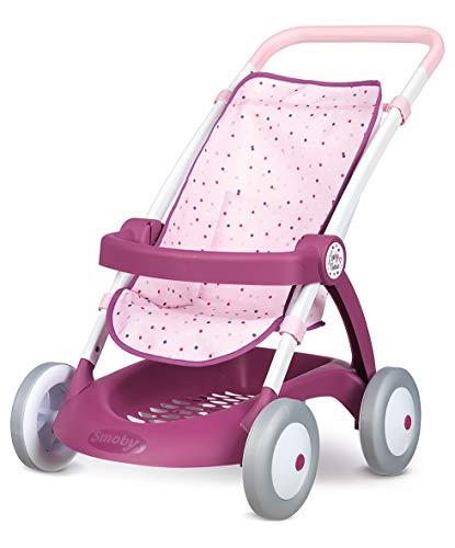 Smoby 254003 Baby Nurse - Arco de sujeción y Cesta de Almacenamiento para muñecas