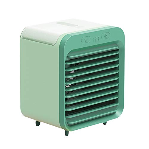 wuyi Aire Acondicionado Portátil Mini Refrigeración por Iones Negativos Climatizadores evaporativos USB 3 Configuraciones de Velocidad del Enfriador de Aire...