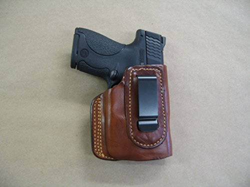 Ruger LC9, LC9s EC9s with Laser in The Waistband IWB Concealed Carry Holster CCW TAN RH