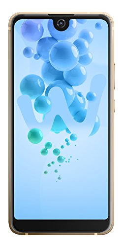 Wiko View 2 Pro Smartphone (15,2 cm (6 Zoll) Display, 64GB interner Speicher, Android 8 Oreo) gold