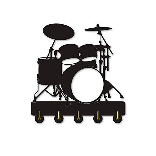 Drum Themed Key Rack