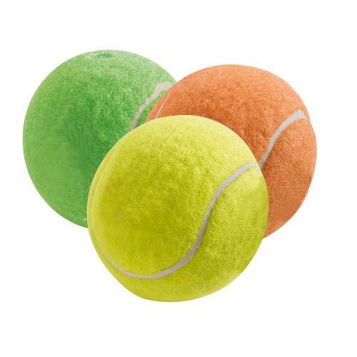 HUNTER Tennisball Lot de 3 Jouets pour Chien 6 cm