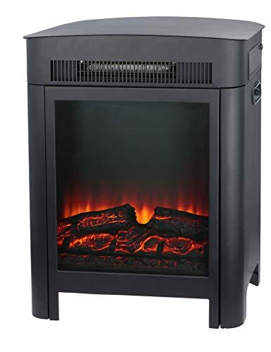 Classic Fire Chimenea eléctrica Modena – Calefacción eléctrica con LED – Chimenea Decorativa con Efecto Llama – 1800 W