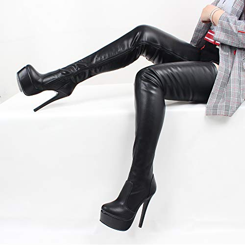 JiaLuoWei-Women-Over-Knee-Boots-16cm-High-Heels-Zipper-Sexy-Boots-Fashion-Shoes