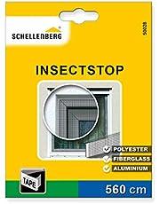 Schellenberg 50028 bevestigingsband wit voor vliegengaas van polyester, glasvezel en aluminium (5,6 m lengte)