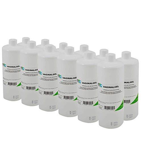 12x 1000 ml MC24® Vaginal Kontaktgel Ultraschallgel Gleitgel Untersuchungsgel Gynäkologie Übertragungsgel Gel