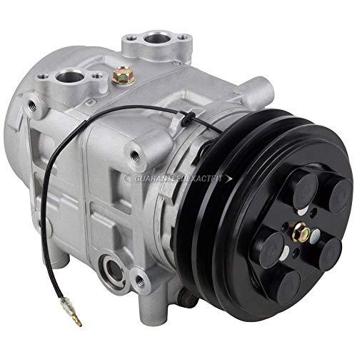 AC Compressor & 152mm Double V-Belt A/C Clutch For Mack & International Trucks Replaces Tama TM-31 488-46520 12v Seltec - BuyAutoParts 60-02464NA NEW