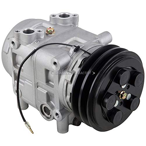 AC Compressor & 152mm Double V-Belt A/C Clutch For Mack & International Trucks Replaces Tama TM-31 488-46520 12v Seltec - BuyAutoParts 60-02464NA NEW