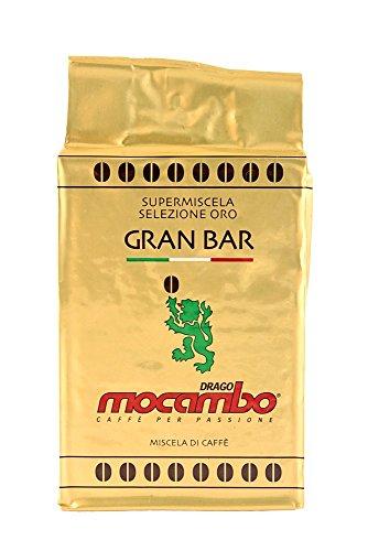 Mocambo Gran Bar Oro Caffè Espresso - Gemahlene Kaffeemischung, 1er Pack (1 x 250 g)