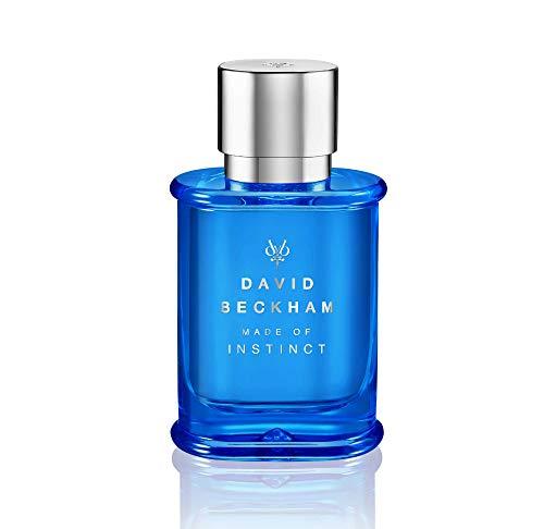 David Beckham MADE OF INSTINCT Eau de Toilette – Aromatisch-holziger Herrenduft für den stilbewussten Mann – 1er Pack (1 x 50 ml)