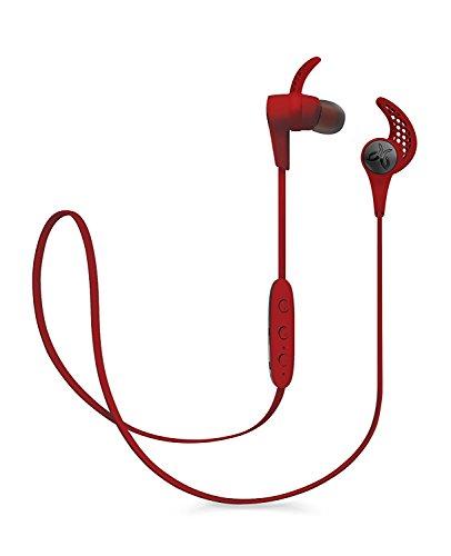 Jaybird X3 Kabellose In-Ear Kopfhörer, Bluetooth, Schweißbeständig und Wasserabweisend, Lautstärkereglung, 8-Stunden Akkulaufzeit, Smartphone/Tablet/iOS/Android - Roadrash/Rot