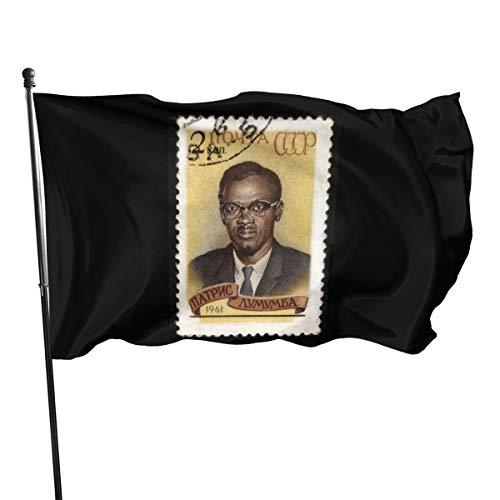 Congo – Bandera de Lumumba Che Guevara, 3 x 5 pies