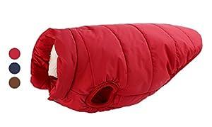 Manteau d'hiver rembourré pour animal domestique FishBabe - Imperméable, coupe-vent et chaud