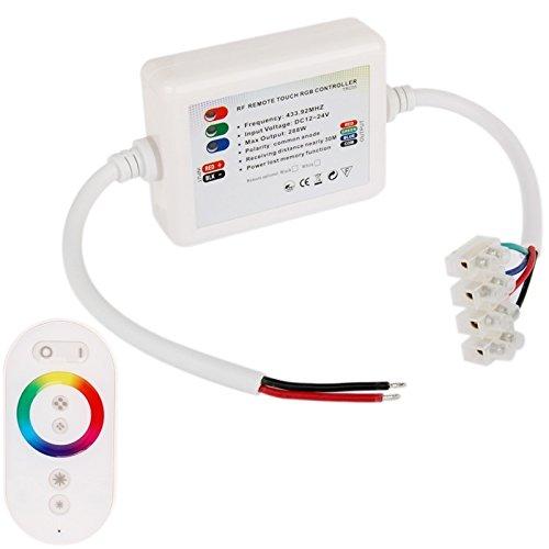 TONGTAIRUI-Accessory Accesorio de la lámpara Dome Style Arco Iris de Panel táctil regulador Remoto inalámbrico dimmer para RGB LED Tira de luz