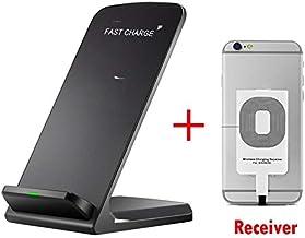 SAMBA-Mobile Phone Chargers - Power 3 Wireless Charger UMIDIGI F2 F1 Play A5 Pro S3 Pro X One Pro Z2 S2 Lite Charging Pad Qi Receiver Phone Accessory (UMIDIGI F1 Play Black)