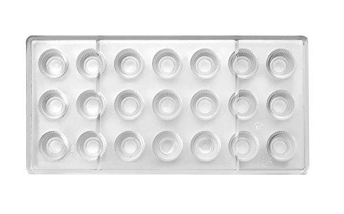 Ibili 799405Pflanztopf Conico Classico Backform Praline Polycarbonat klar 30x 14x 2cm