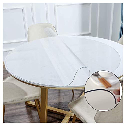 ZHANGQINGXIU Mantel Transparente Protector De Mesa De PVC De 2 Mm Tapete De Mesa Transparente Cubierta De Plástico para El Hogar para Mesa De Comedor De Escritorio, 16 Tamaños