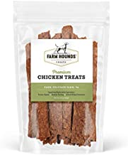 Farm Hounds - Premium Chicken Treats for Dogs - All Natural, Farm to Table, Human Grade Chicken Jerky - Pasture Raised - Humane, Regenerative Farming - Delicious and Tasty Dog Treats | 4.5oz