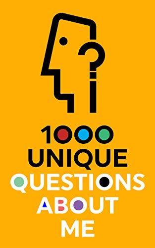 1000 Unique Questions About Me (English Edition)