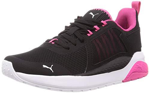 PUMA Anzarun, Zapatillas Unisex Adulto, Negro Black/Glowing Pink White, 41 EU