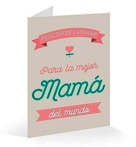 Erik-Postal Feliz Día de la Madre, 17 x 11 cm (TF0284)
