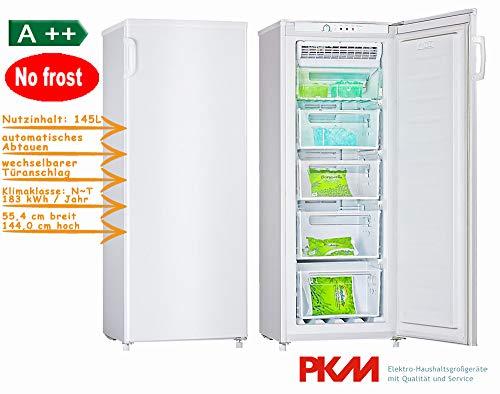 PKM GS175.4A++NF Gefriergerät/A++ / 145 liters