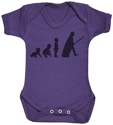 Baby Evolution to A Vader Body bébé - Gilet bébé - Body bébé Ensemble-Cadeau - Naissance Violet