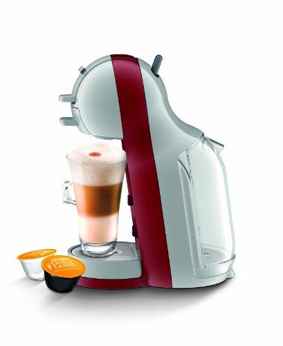 Nescafe Dolce Gusto KP120540 Mini Me Coffee Machine, 1500 W, Red/Grey