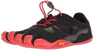 Vibram Fivefingers KSO EVO, Zapatillas de Deporte para Hombre, Negro (Black/Red Black/Red), 41 EU