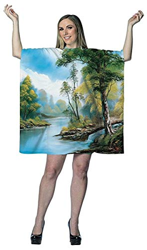 Rasta Imposta Bob Ross Painting Dress Costume