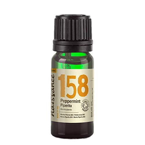 Naissance Menta Piperita BIO - Aceite esencial 100% Puro - Certificación Ecológica - 10ml