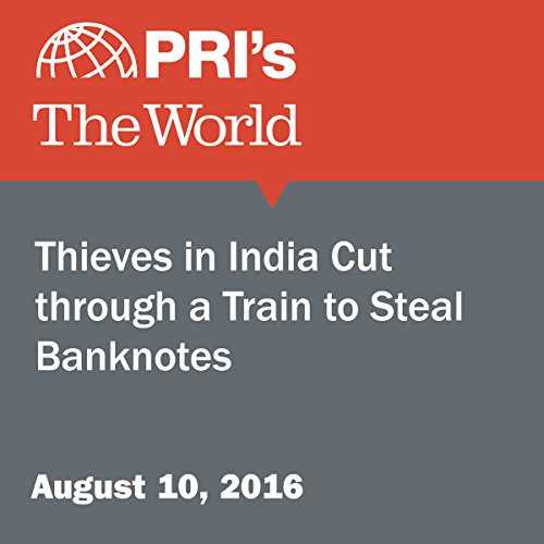 Thieves in India Cut through a Train to Steal Banknotes audiobook cover art