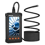 Industrial Endoscope 4.3inch LCD Screen 5.5mm Borescope Camera, 1080P HD Digital Inspection Endoscope