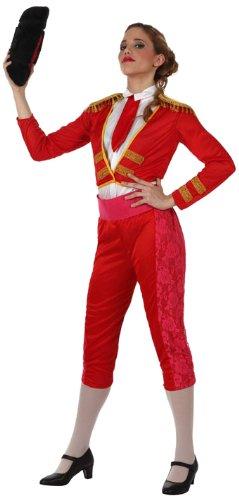 Atosa- Disfraz torera, Color rojo, M-L (10092)