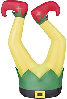 Holiday Time Elf Legs 4' Inflatable