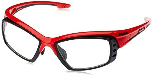 EASSUN Pro RX Gafas De Sol, Unisex, Rojo, M