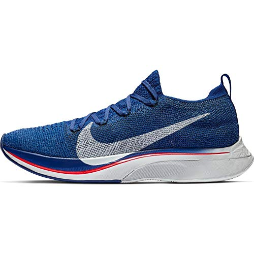 Nike Vaporfly 4% Flyknit Unisex Running Shoe Deep Royal Blue/Red Orbit/Black/Ghost Aqua 4.5