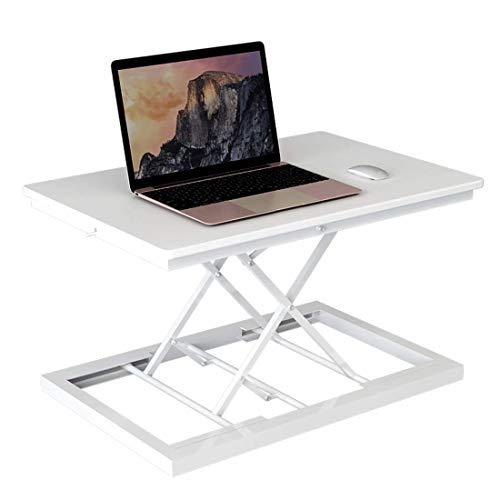 DGDG Escritorio de pie para el hogar, altura ajustable 60 cm x 35 cm, plataforma elevadora de escritorio de pie, altura ajustable ergonómico De.