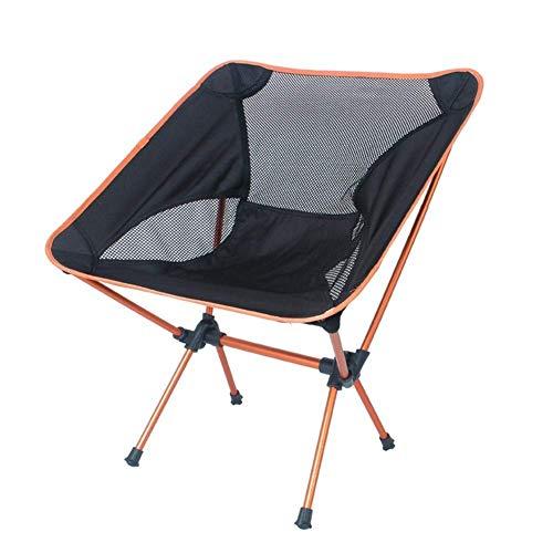 DAGUAI Silla plegable para camping, silla de camping, cómoda al aire libre para acampar barbacoas