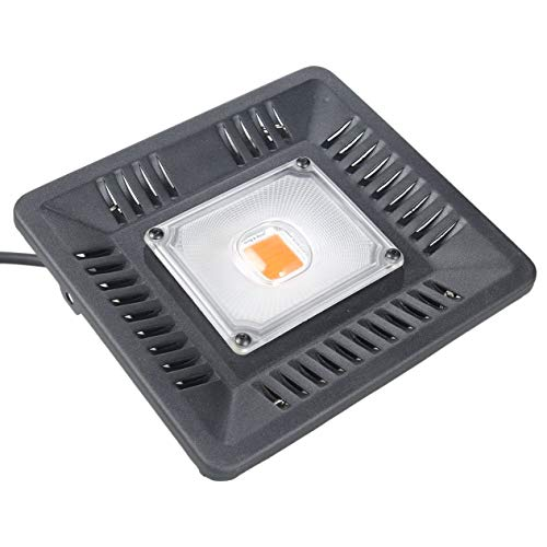 Goldyqin LED Grow Light AC 220V 100W COB Vollspektrum Grow LED Light I67 wasserdichte Außenleuchte COB LED Plants Growth Light