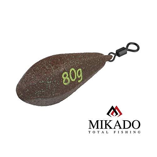 Mikado CARP Long Cast Distance Lead weitwurf Blei Karpfenblei von 40g bis 150g erhältlich (80g)